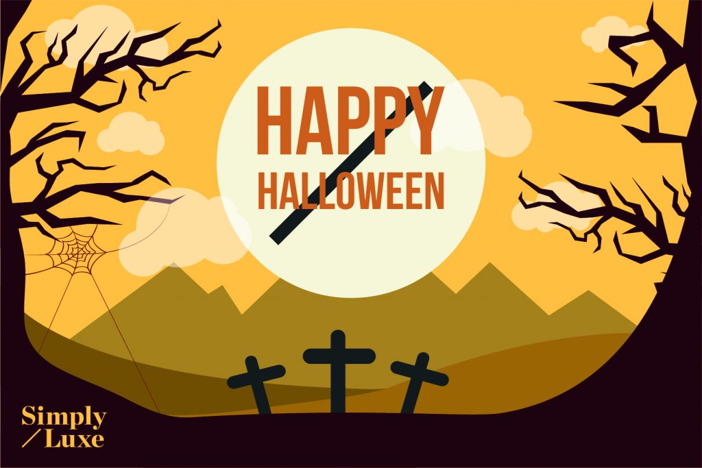 Happy Halloween From Simply Luxe Retail Packaging