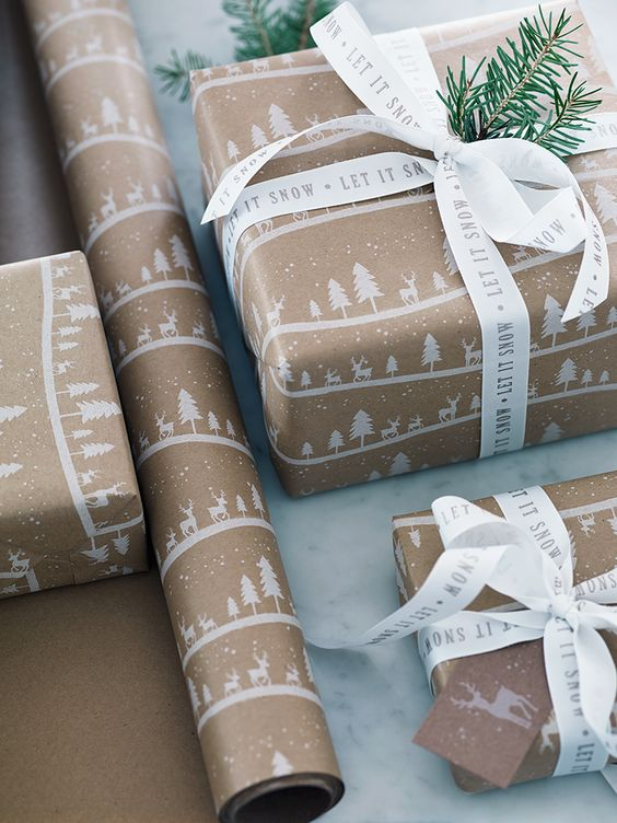 Last Minute Christmas Packaging from Simply Luxe