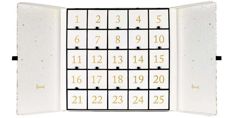 Harrods first ever Beauty Advent Calendar.. and we made it
